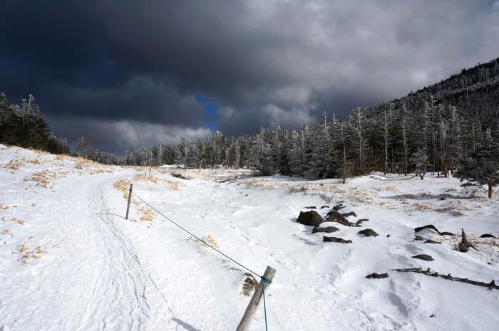 北八ヶ岳スノーハイク
