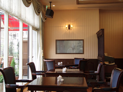 道後山の手ホテルレストラン
