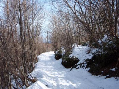 冬の石鎚山成就