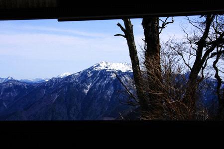 石鎚山からの冬の瓶ヶ森