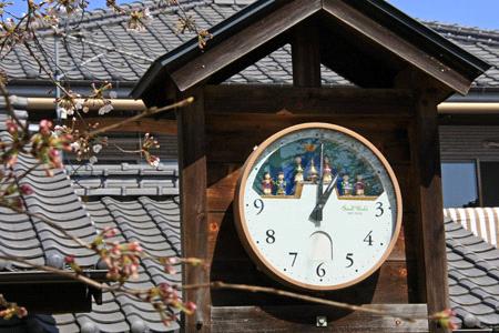 内子町のからくり時計