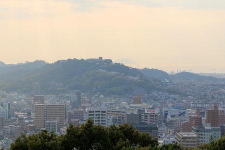 松山城天守からの眺め