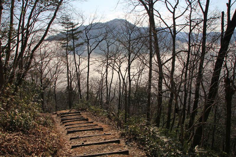 竹田城登山道