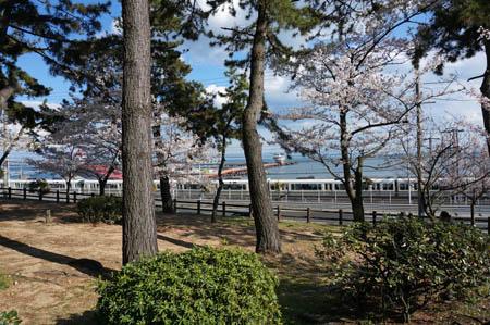 須磨浦公園と海