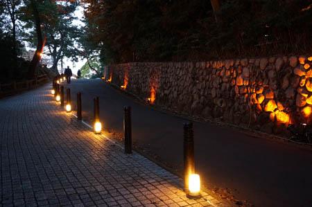 須磨浦公園ライトアップ