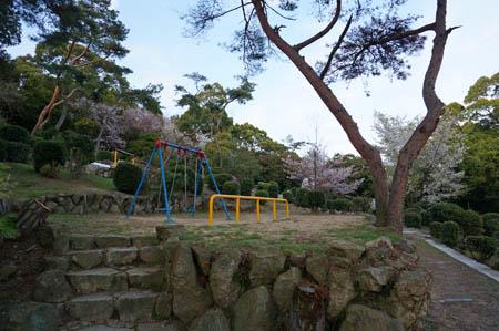 須磨浦公園西側遊具広場