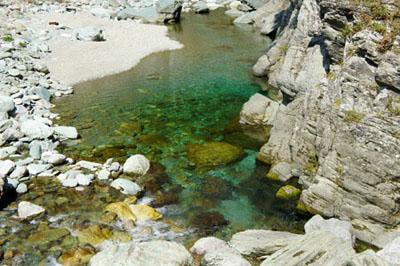 石鎚ふれあいの里加茂川