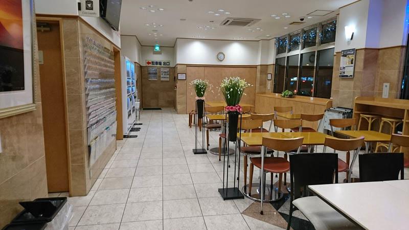 東横イン松山一番町レストラン