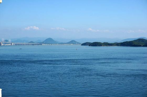 鷲羽グランドホテル備前屋甲子からの瀬戸大橋