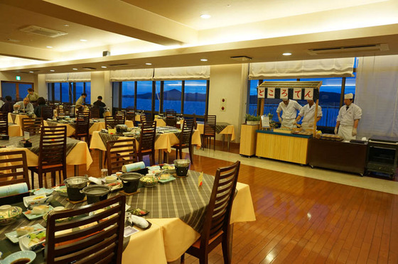 鷲羽グランドホテル備前屋甲子レストラン