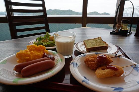 鷲羽グランドホテル備前屋甲子朝食