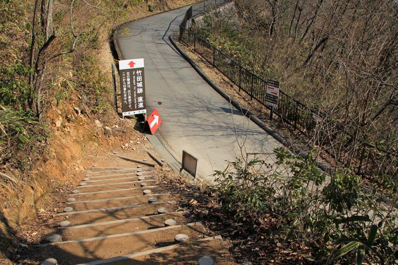 竹田城観光道路