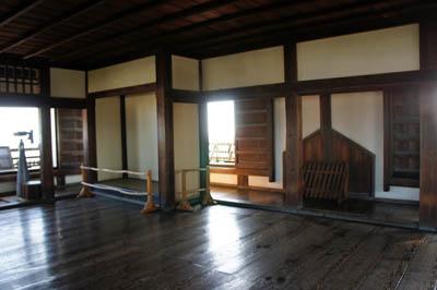松山城天守閣最上階
