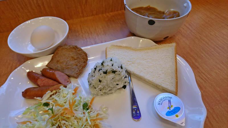 東横イン松山一番町無料朝食