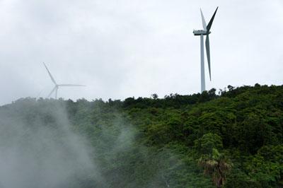 佐田岬半島の風車