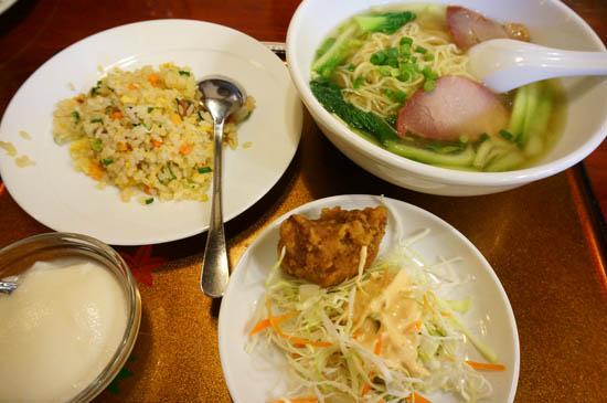 京華楼セット料理