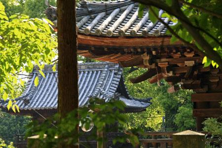 太山寺境内