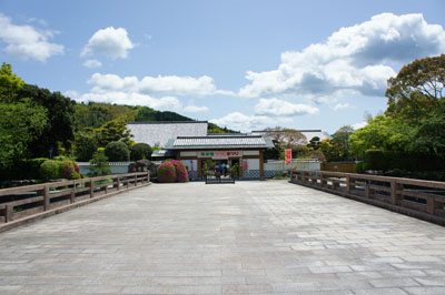 南楽園入口