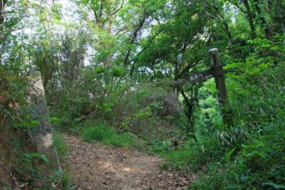 経ヶ森登山道