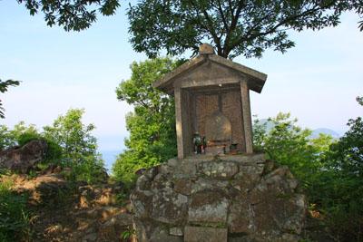 経ヶ森山頂