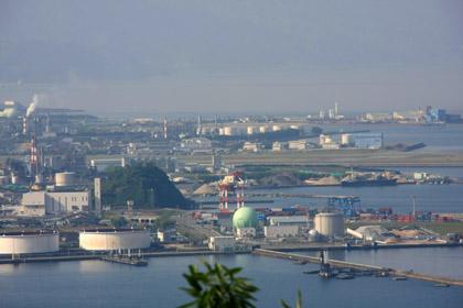 経ヶ森からの松山空港