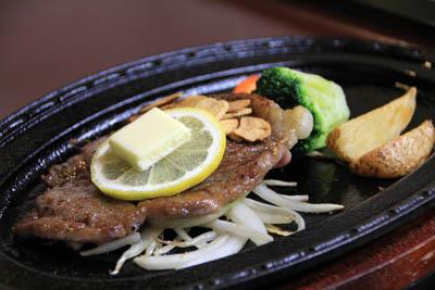 田島館夕食