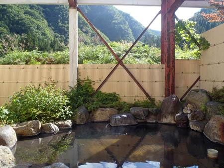 田島館露天風呂