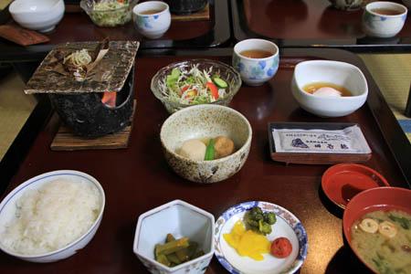 田島館朝食