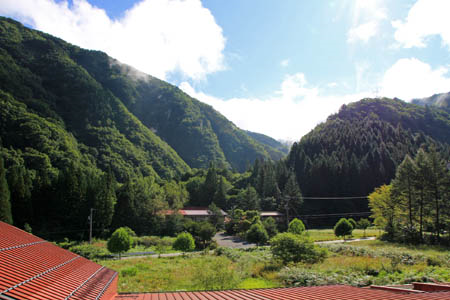 田島館からの眺め