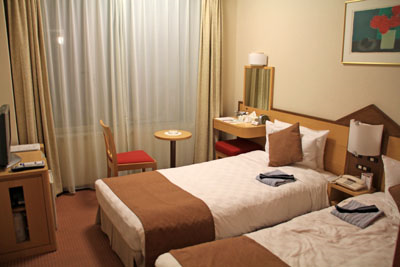 富良野プリンスホテル客室