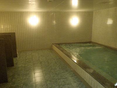 富良野プリンスホテル浴室