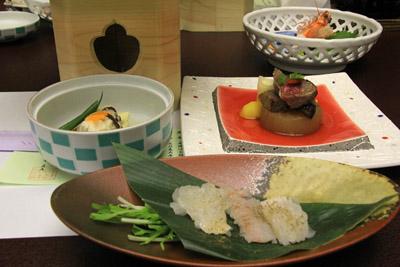 かんぽの宿淡路島夕食