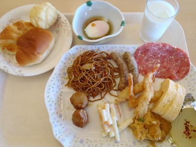 かんぽの宿淡路島朝食