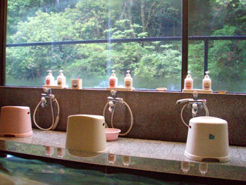 鈍川温泉ホテル岩風呂