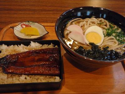 四万十川の駅カヌー館の食事