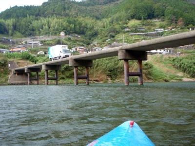四万十川カヌーと沈下橋