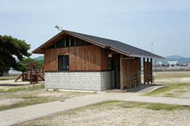 鹿島キャンプ場トイレ