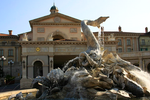 ホテルミラコスタ噴水