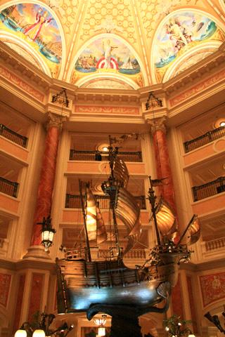 ホテルミラコスタロビー