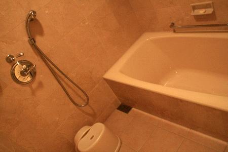 ホテルミラコスタ浴室