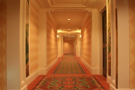 ホテルミラコスタ廊下