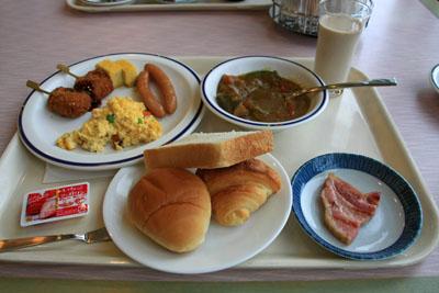 かんぽの宿伊野朝食