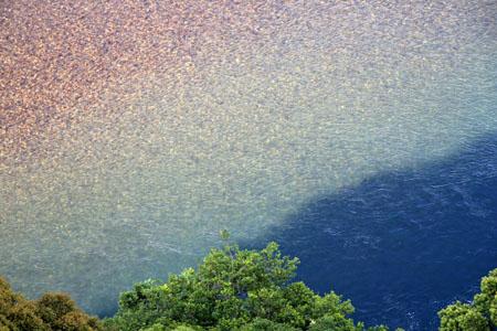 かんぽの宿伊野からの仁淀川