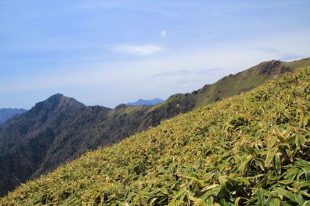笹ヶ峰と寒風山
