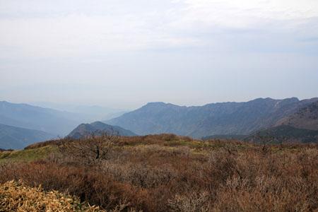 笹ヶ峰頂上からの瀬戸内海