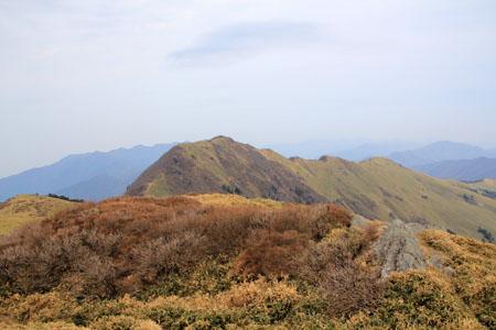 笹ヶ峰頂上からのちち山