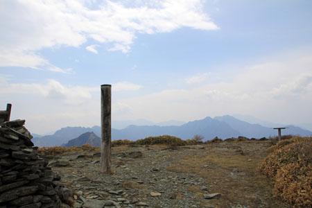 笹ヶ峰頂上
