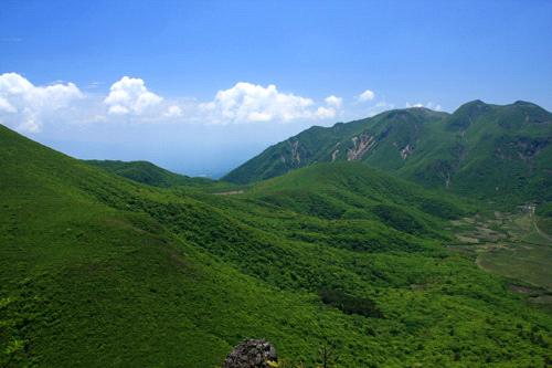 大船山と中岳