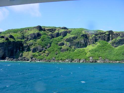 与那国島の青い海