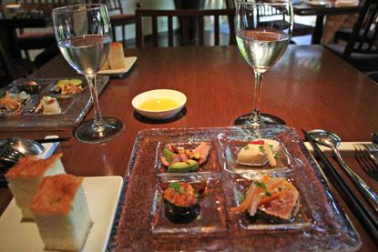 THE FUJIYA GOHONJINランチ前菜